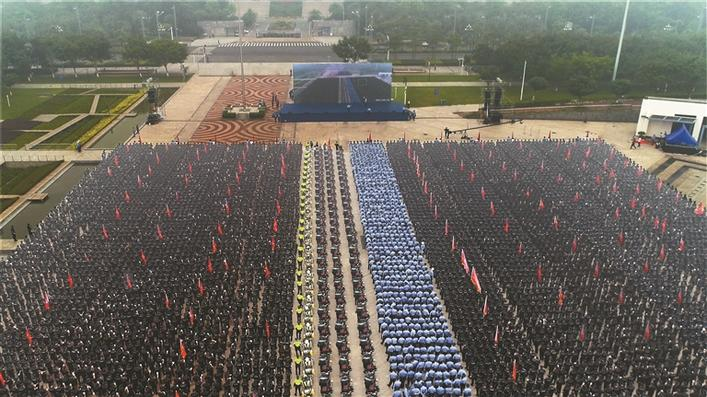 2020中国警察警服改革