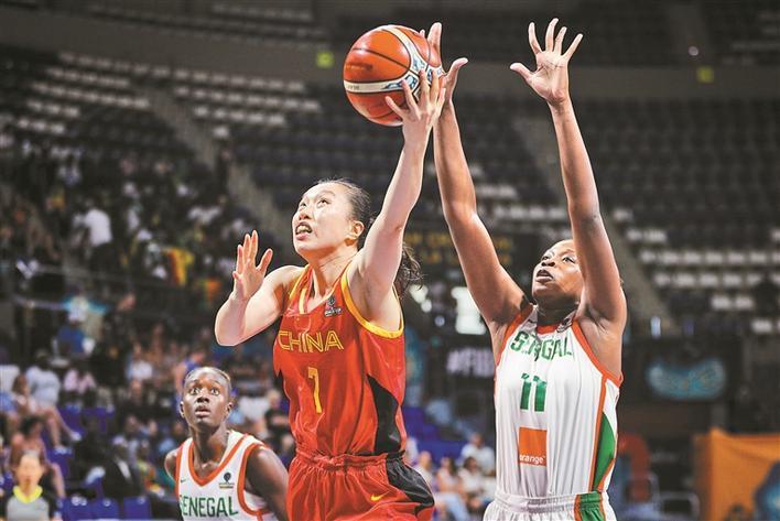 女篮世界杯中国队小组第二出线