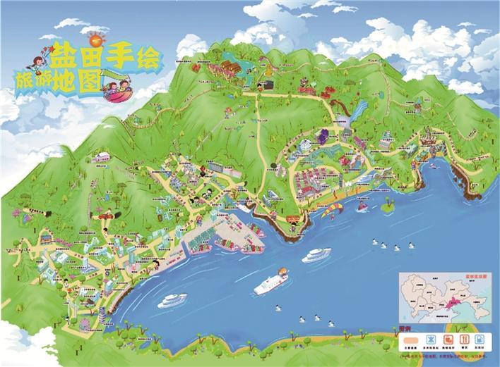 鹽田區打造高品質全域旅游示范區