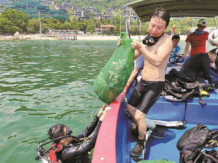 超2000名志愿者携手清理海洋垃圾