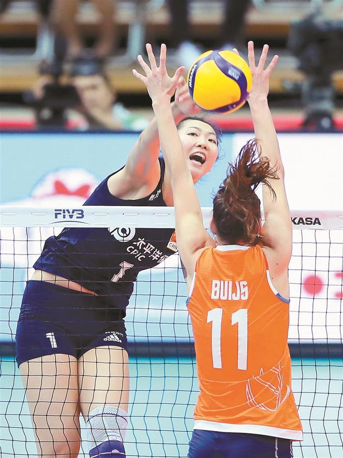 中国女排9连胜