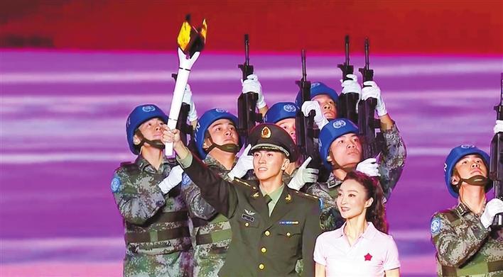 深圳元素闪耀世界军运会